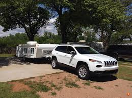 jeep grand cherokee camping jeep cherokee towing a pop up camper jeep cherokee kl