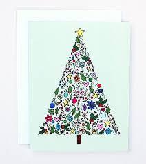 hand drawn christmas card ideas chrismast cards ideas
