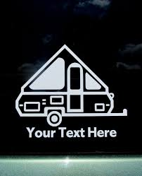 pop up trailer pop up cer car window decal cing