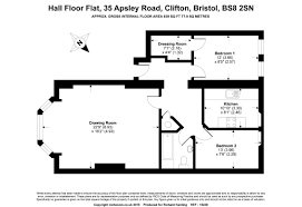 Apsley House Floor Plan 2 Bedroom Property For Sale In Apsley Road Clifton 369 950