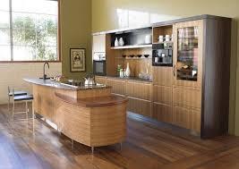 Kitchen Cabinet Surfaces Modern Wooden Kitchen Designs Dark Wood Features Exposed Beam
