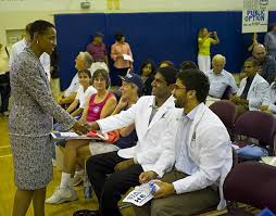 Medical Student R by Town Hall Meeting In Germantown Maryland Pictures Getty Images