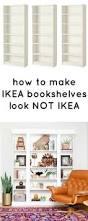 Ikea Billy Bookcase Hack Ikea Hack Billy Built In Bookshelves Part 1 Billy Bookcase