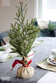 Small Christmas Tree Table Decorations by Prettiest Christmas Table Centerpiece Decoration Ideas Christmas