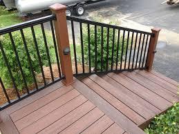 Trex Lighting Aluminum Deck Railing Radnor Decoration