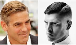 before and after pics of triangle face hairstyles best haircuts for men with a triangular face