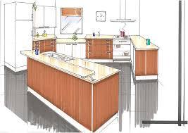 comptoir de la cuisine comment dessiner un comptoir de cuisine