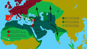 Middle East Religion Map by Religious History Lesson 0 1