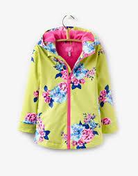 raindance lime floral waterproof coat joules uk different colour