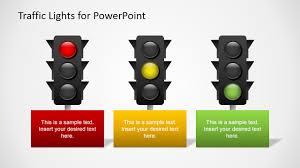 stoplight report template free traffic lights for powerpoint slidemodel