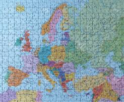 Map Of The Whole World by Puzzle Map The Whole Europe Stock Photo Picture And Royalty Free
