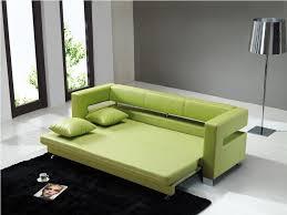 elegant sleeper sofa furniture mid century green leather modern sleeper sofa with