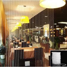 Decor Beaded Window Curtains Beaded by Amazon Com Klaren Acrylic Clear Diamond Garland Strands Crystal