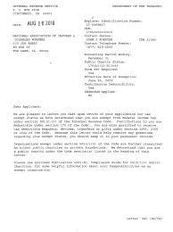 Non Profit Donation Receipt Letter Accreditations U0026 Endorsements Naidw
