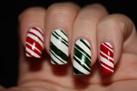 candy cane nail art best nail 2017 candy cane nail art best nail