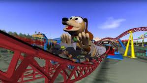 slinky dog dash roller coaster track added for disney u0027s toy story land
