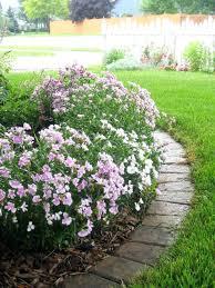 stone flower bed border stone flower bed edging stone flower bed