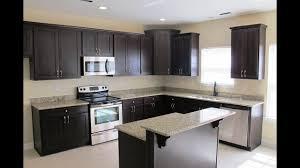 espresso kitchen cabinets with white countertops espresso cabinets with what color granite