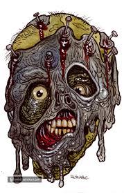 happy halloween zombie mask zombie art and zombie portraits by