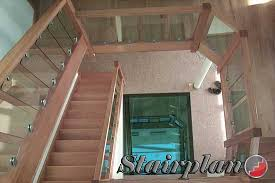Glass Banister Uk Glass Balustrade Panels Toughened Glass Balustrading