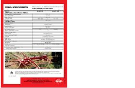 kuhn ga gyrorakes trailed single rotor ga 4220 th ga 4221