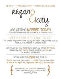 Funny Wedding Programs Funny Wedding Programs Change The Font Wedding Pinterest