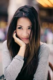 does hair look like ombre when highlights growing out asian hair ombre grow it out this is my hair crush i want this