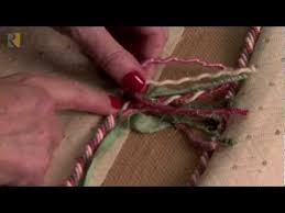 Upholstery Cording Instructions Joining Decorative Twist Cord Youtube