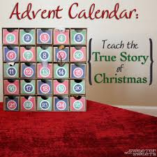sweeterthansweets advent calendar teach the true story of