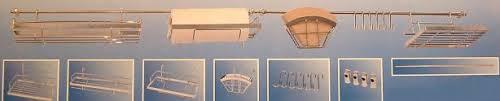 tringle de cuisine tringle étagère support d ustensiles de cuisine 18 90eur