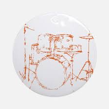 drum ornament cafepress