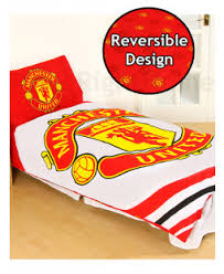 Manchester United Double Duvet Cover Manchester United Fc Bedding U0026 Decor Price Right Home