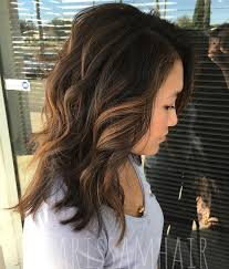 lightened front hair 60 hairstyles featuring dark brown hair with highlights