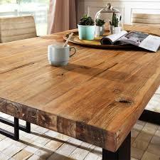 Esszimmer Tisch Massiv Esszimmertisch Vedra Mit Baumkante Aus Akazie Pharao24 De