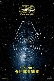 star wars 40th anniversary poster fan made by akirathefighter24