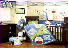 Snoopy Bed Set Vintage Snoopy Crib Bedding Set Home Inspirations Design