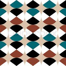 modern wrapping paper geometric vector pattern in retro style modern stylish texture