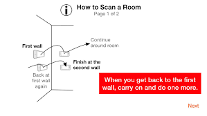 roomscan get a floor plan in minutes just by walking around the