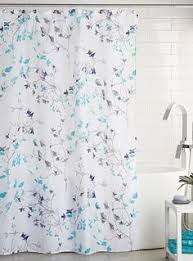 white lily shower curtain pure white and decorating