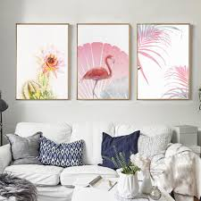 Wall Paintings For Living Room Compare Prices On Pink Wall Painting Online Shopping Buy Low