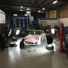 porsche pink rwb building a porsche 911 tribute to 917 20 pink pig racecar in