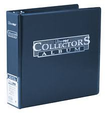 Photo Album Binder Collectors Album 3 Ring Binder Ultra Pro Card Storage For A4 Pages