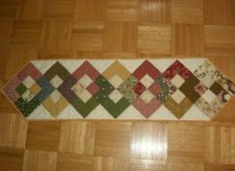 a quilted table runner thriftyfun
