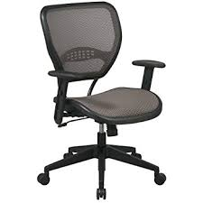 Seat Chair Amazon Com Space Seating Airgrid Latte Back And Mesh Seat 2 To 1