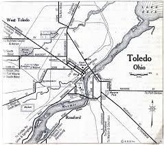toledo ohio map lucas county ohio maps and gazetteers