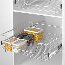 panier cuisine tiroir coulissant pour meuble cuisine lovely panier de rangement