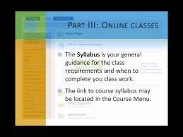 online class part 3a online classes what do they look like