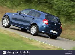 Bmw 116i Car Bmw 116i Model Year 2005 Dunkelblue Moving Diagonal From