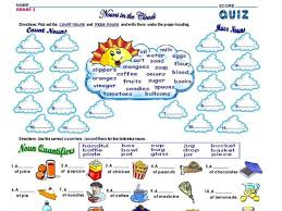 Exercises Count And Non Count Nouns Mass And Count Nouns Lesson Plans Worksheets Reviewed By Teachers