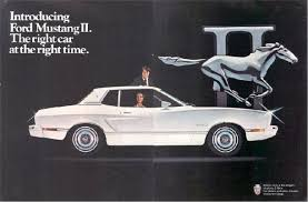 ford mustang ads ford mustang ii the right car at the right 1974